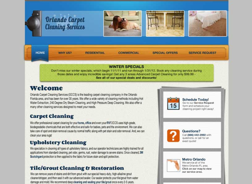 OCCS web design/development project for Full Sail - Wise Choice Marketing Solutions