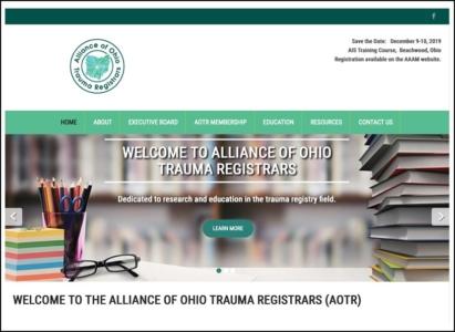 AOTR Logo and Website Redesign