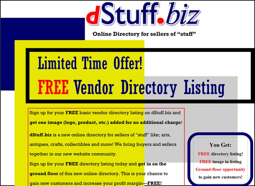 dStuff.biz vendor flyer - Wise Choice Marketing Solutions