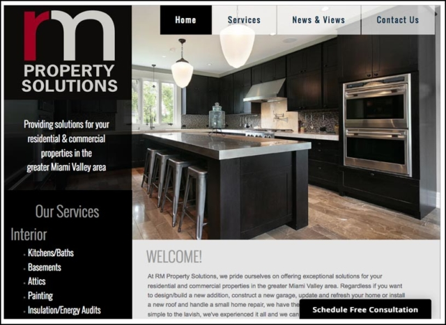 Responsive Website for RM Property Solutions
