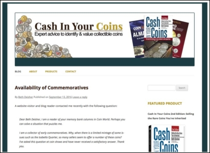 Cash in Your Coins Website Redesign - Wise Choice Marketing Solutions