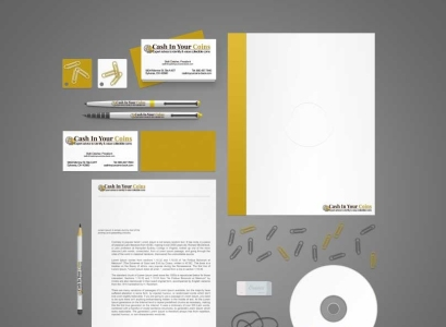 Cash in Your Coins branding-identity set - Wise Choice Marketing Solutions