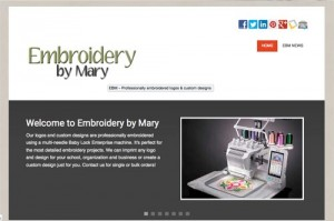 Embroidery by Mary phase 1 - Wise Choice Marketing Solutions