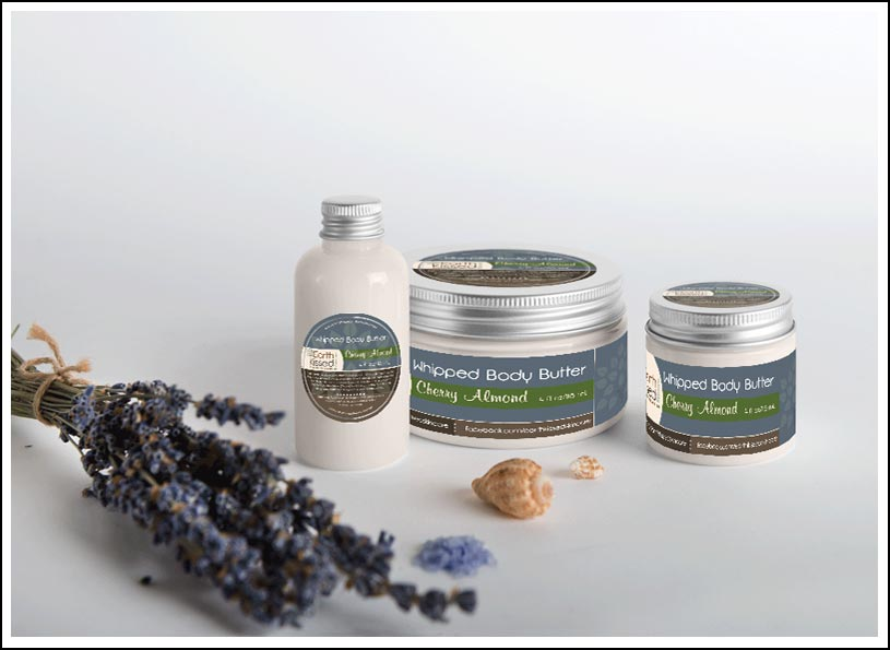 Earth Kissed Skincare Product Labels - Wise Choice Marketing Solutions