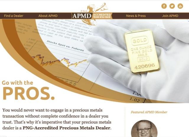 Accredited Precious Metals Dealer (APMD)