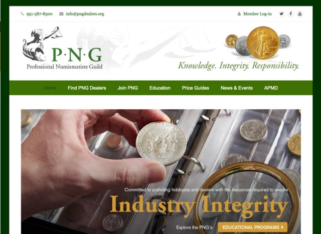 Professional Numismatists Guild